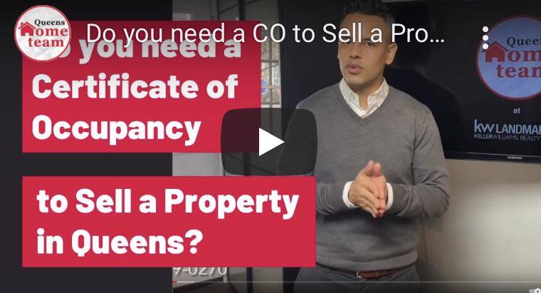 Do you need a Certificate of Occupancy to Sell a Property in Queens?