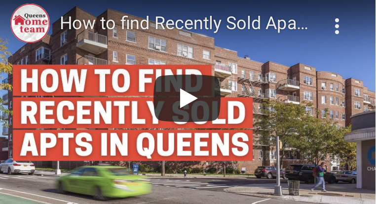 How to find Recently Sold Apartments in Queens and NYC
