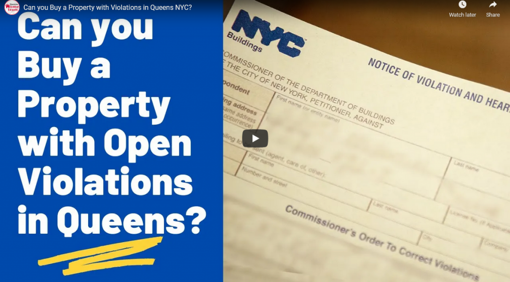 Can you Buy a Property with Violations in Queens NYC?