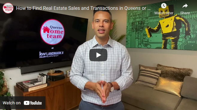 How to Find Real Estate Sales and Transactions in Queens or NYC